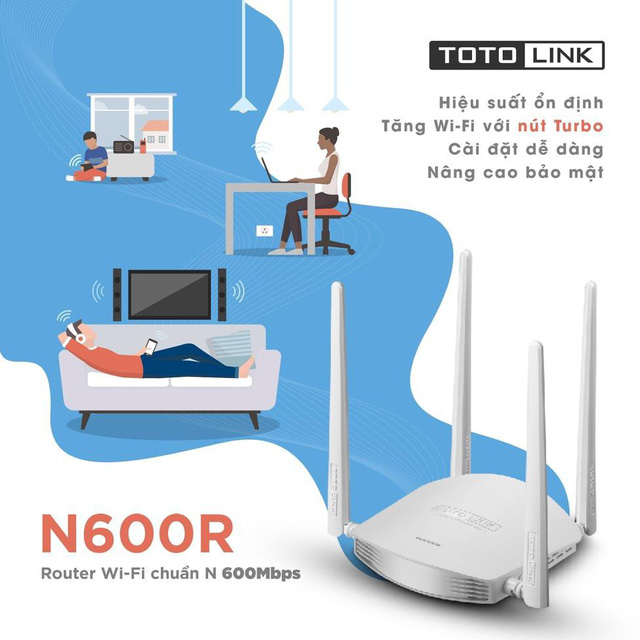Router-wifi-TOTOLINK-N600R